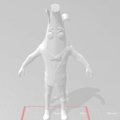 Download free STL file Agent Peely Fortnite • 3D printable template, devilmayplay