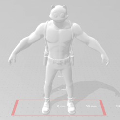 Download free STL file Fortnite Mewscles • 3D print template, devilmayplay