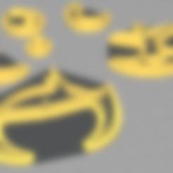 Archivos 3D Cortador de galletas - Powerpuff Girls - Buttercup, swtutorial2017
