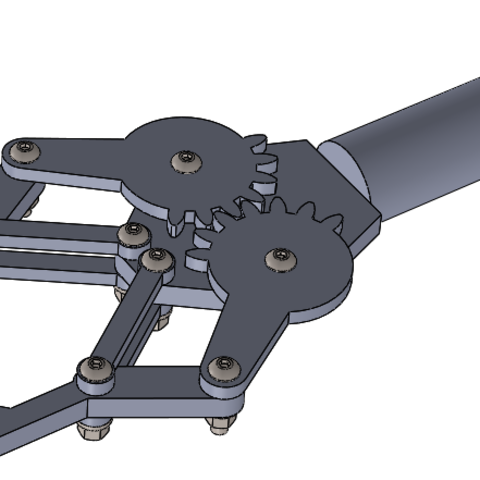 3D printer files Mechanical Claw, swtutorial2017