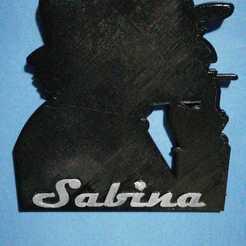 Download 3D printing templates SABINA, sandralmkt