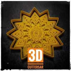 WhatsApp Image 2020-10-02 at 15.47.43.jpeg Télécharger fichier STL MANDALA STAR 2- EMPORTE-PIÈCE • Objet pour impression 3D, 3DCuttersAr