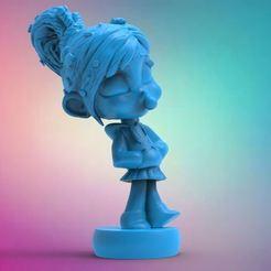 3D print files Vanellope, Norami3d