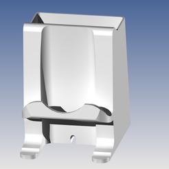 Impresiones 3D gratis Porta teléfono y porta bolígrafos, QUEBEC_POWER