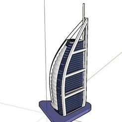 Télécharger modèle 3D gratuit Burj al Arabe, Qelorliss