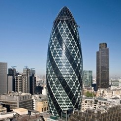 Download free 3D printer templates The Gherkin, Qelorliss