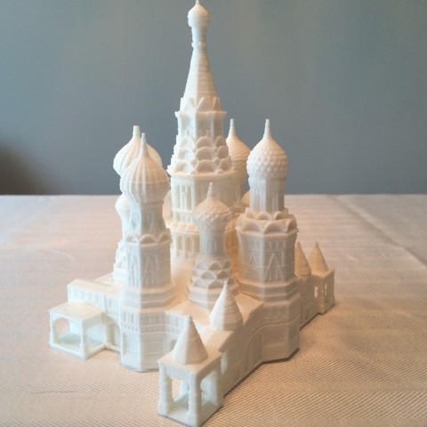 Download free 3D printing templates St. Basil's Cathedral, Qelorliss
