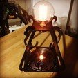 Télécharger fichier 3D gratuit Mini lampe de bureau Tesla à alimentation sans fil, Qelorliss