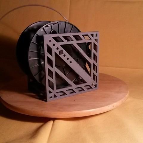 Download free 3D printer designs Modular Filament Spool Holder, Qelorliss