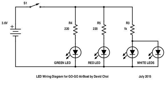 GoGoAirBoatLEDCiruit_display_large.jpg Download free STL file GO-GO AirBoat • 3D printer template, Qelorliss