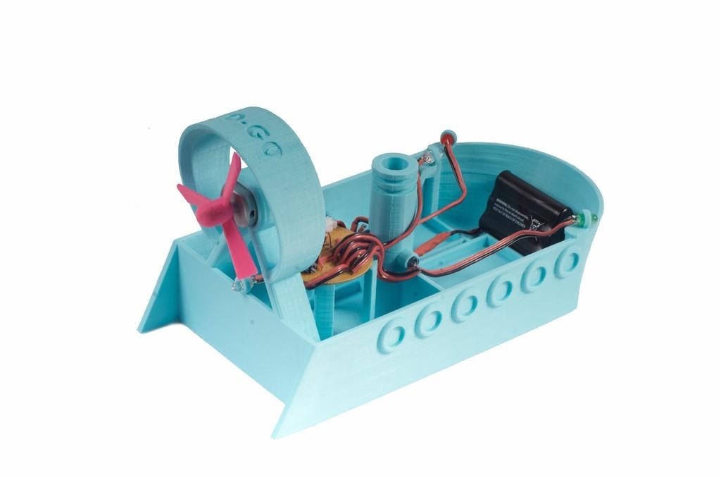 gogobatch2b_display_large.jpg Download free STL file GO-GO AirBoat • 3D printer template, Qelorliss