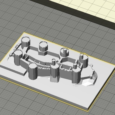 Download free 3D printer model Conwy Castle, Qelorliss