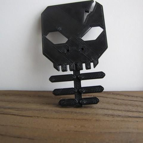 IMG_1197_display_large.JPG Télécharger fichier STL gratuit Porte-bouton d'oreille squelette • Modèle pour imprimante 3D, Qelorliss