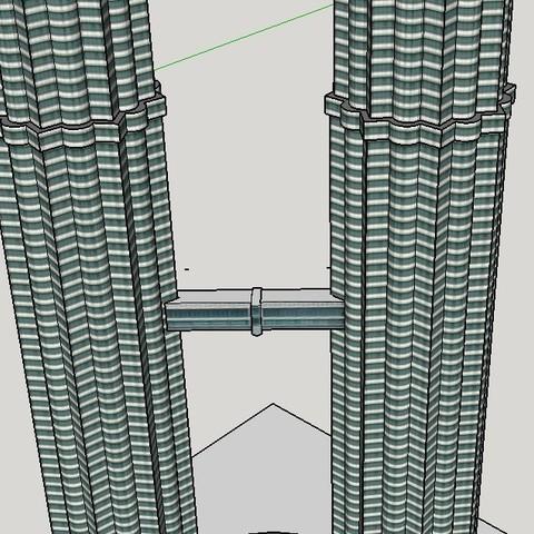 Download free 3D printing models Petronas Towers, Qelorliss
