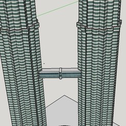 Download free 3D printing models Petronas Towers, Qelorliss