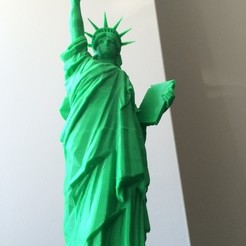 Download free 3D printer templates Statue of Liberty - Repaired, Qelorliss