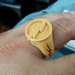 Free 3D printer files Reverse Flash's Ring, Kajdalon