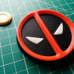 Télécharger modèle 3D gratuit Symbole magnétique de Deadpool, Kajdalon