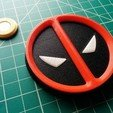 Free 3D print files Deadpool Magnetic Symbol, Kajdalon