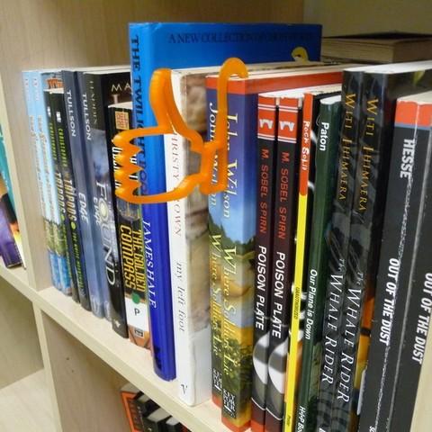 Télécharger objet 3D gratuit Marque de livre / Étagère de bibliothèque Chercheur d'attention, Kajdalon