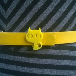 Download free 3D printing files Kitty Belt Loop, Kajdalon