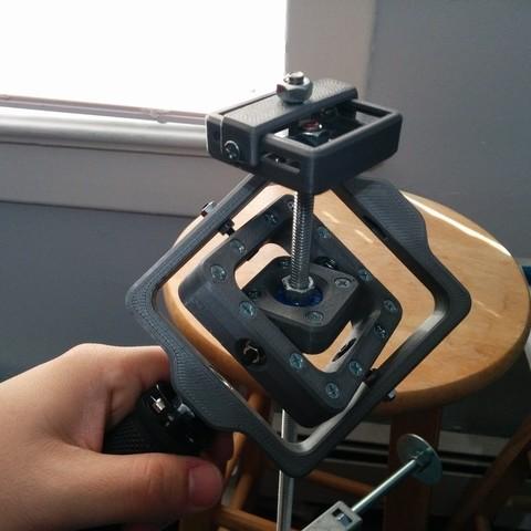 Télécharger fichier STL gratuit Stabilisateur de caméra à cardan (GlideCam), Kajdalon