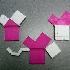 Télécharger fichier 3D gratuit Théorème de Pythagore, Kajdalon