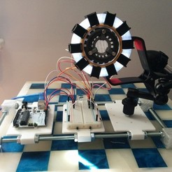 Download free 3D printer templates The qInch Project : Arduino Testing Rig, Kajdalon