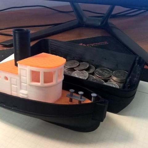 WP_20150707_21_51_18_Pro_display_large.jpg Download free STL file Barge with Tugboat • 3D print object, Kajdalon