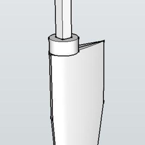 rudder_display_large.JPG Télécharger fichier STL gratuit Voilier à voile • Objet pour impression 3D, Rusichar