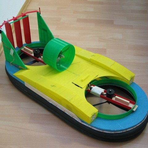 Download free 3D print files 3D-Printed Hovercraft, Rusichar