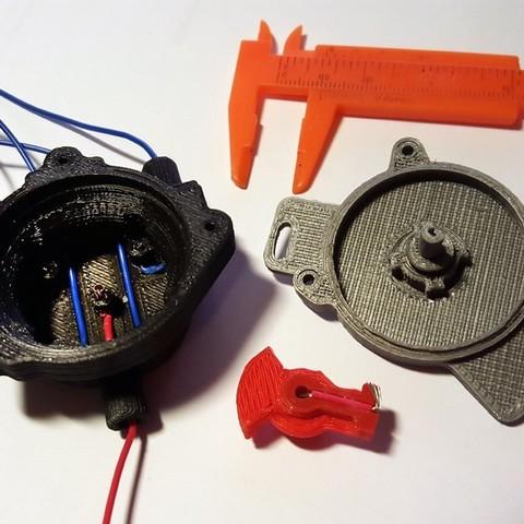 Download free 3D printer templates Volvo Redblock distributor, Rusichar
