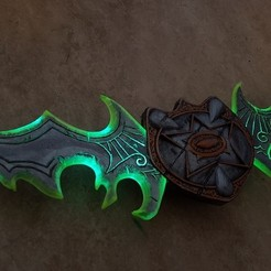 Download free 3D printer files Warglaive of Azzinoth, Rusichar