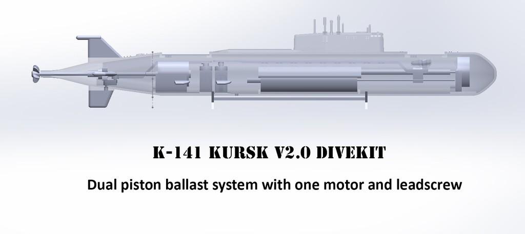 divekit_display_large.jpg Download free STL file K-141 Kursk • 3D print template, Rusichar