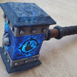 Download free 3D printer templates Doomhammer, Rusichar
