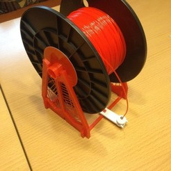 Download free 3D printer designs Filament Spool Holder, Rusichar
