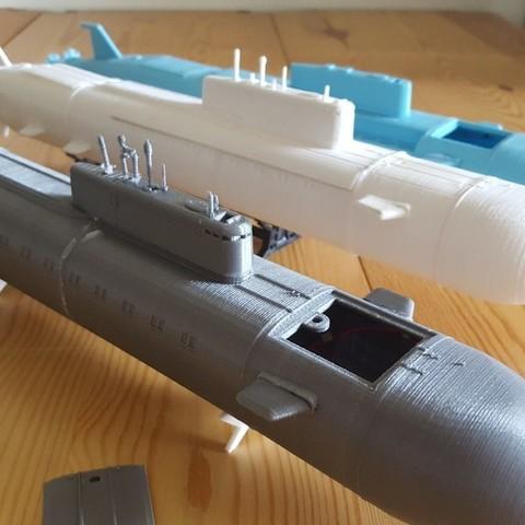 Télécharger objet 3D gratuit K-141 Koursk, Rusichar