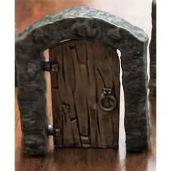 Download free 3D print files Gloomhaven Door, MadcapMiniatures