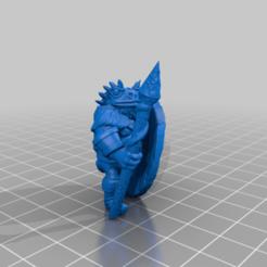 toadwarior1.png Télécharger fichier STL gratuit Guerrier crapaud • Design pour imprimante 3D, MadcapMiniatures