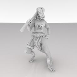 kobold_ax_thingiverse.jpg Download free STL file Kobold • 3D printable model, MadcapMiniatures