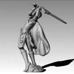 3D print model Bladedancer, MadcapMiniatures
