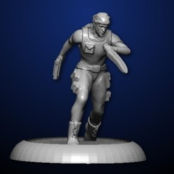 scout.jpg Download STL file Scout • 3D printer design, MadcapMiniatures