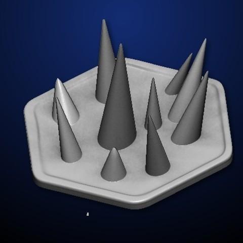 Descargar diseños 3D gratis Goomhaven Spike Trap, MadcapMiniatures