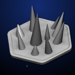 Download free 3D printer designs Goomhaven Spike Trap, MadcapMiniatures