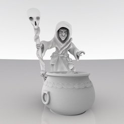 80dfa510db19d960cb73091f7c686578_display_large.jpg Download free STL file Witch Brewing • 3D printer model, MadcapMiniatures