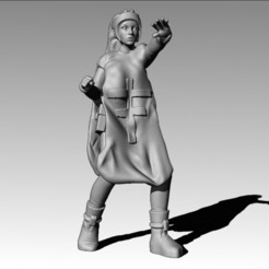 medic.jpg Download STL file Cleric • Template to 3D print, MadcapMiniatures