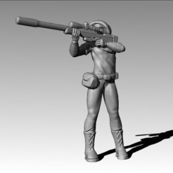 Download 3D printer designs Sniper, MadcapMiniatures