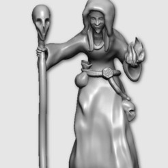 Download free 3D printer designs Witch, MadcapMiniatures
