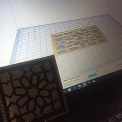 IMG-3165.JPG Download STL file Decor motif oriental pour miroir • 3D printable object, Nourredine94