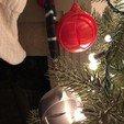 Descargar archivo STL gratis Ornamento de Navidad Orbital • Modelo para la impresión en 3D, infocus